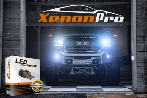 led headlight bulb kit automotive xenon conversion 45w