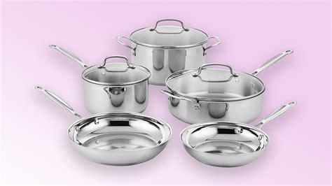 amazon sale  cuisinart stainless steel pots pans  skillets