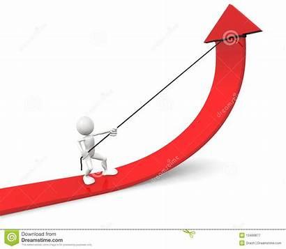 Grafiek Verbetering Grafico Pijl Verde Improvement Graph