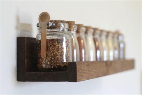wood spice rack rustic wooden spice rack ledge shelf ledge shelves wooden