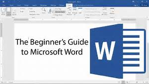 Beginner U0026 39 S Guide To Microsoft Word - Tutorial