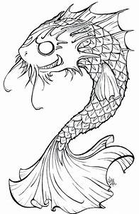 Koi-dragon: Colour me in : by Scalywings on DeviantArt