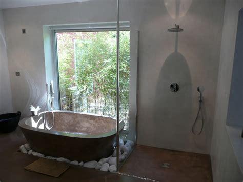 baignoire chambre 2011 salle de bain baignoire en béton ciré chaux sur