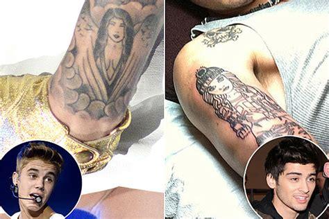 Selena Gomez Justin Bieber Tattoo