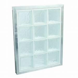 panneau de briques de verre pret a poser la rochere With comment poser des carreaux de verre