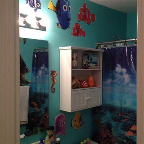 finding nemo bathroom theme bathroom the sea shower curtain aqua paint