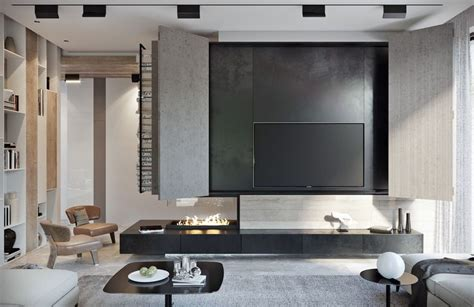 A Pair Of Stylish Apartments That Put Their Extra Rooms To Good Use : 3005 Best Images About Living Room Designs On Pinterest