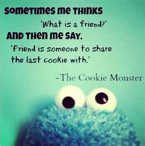 Cookie Monster Quotes About Cookies. QuotesGram