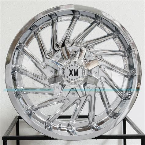 mudder rims xtreme wheels 5x115 5x127 5x5 20x10 chrome seller