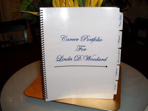 Resume Binder by Career Portfolio Sle Career Portfolio Portfolio