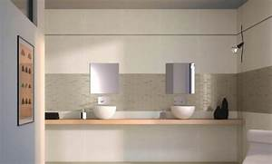 castorama carrelage metro fraicheur tonique dans une With carrelage adhesif salle de bain avec chambre adulte led