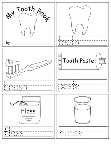 kindergarten worksheet going to dentist kindergarten