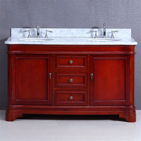 Cambria Vanity by Cambria Vanity 60in Cherry Home Surplus