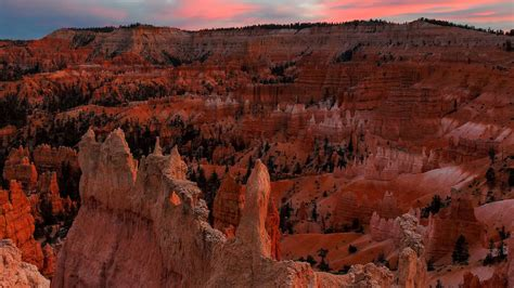 top wow spots  bryce canyon national park sunset
