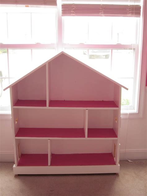 ana white doll house book shelf diy projects