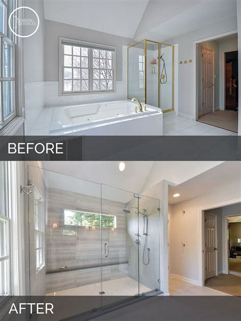 Bathroom Remodel Ideas Before And After by Carl Susan S Master Bath Before After Pictures