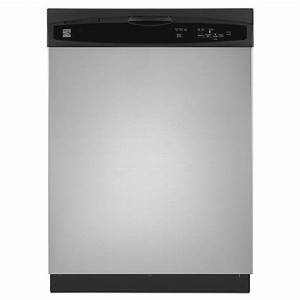 Kenmore 24 Inch Stainless Steel Built In Dishwasher 3