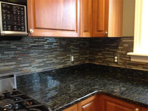 kitchen backsplashglass tile and slate mix kitchen