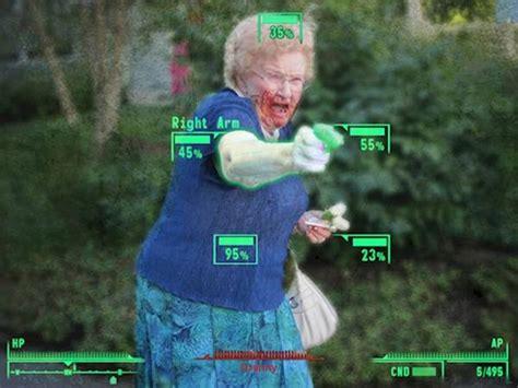 grandma  water gun photoshop contest