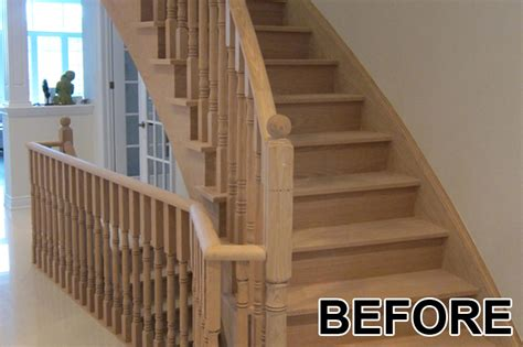 toronto staircase painting  staining home painters