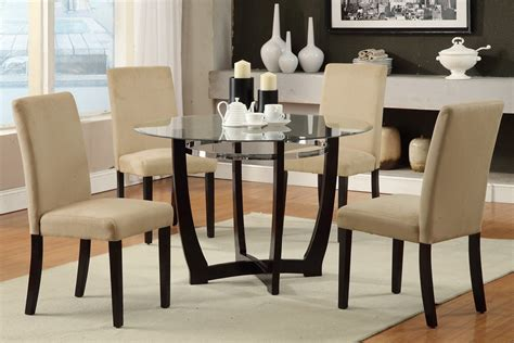 glass dining room table sets home furniture design