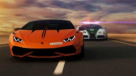 Bugatti Lamborghini by Lamborghini Robber And Bugatti Cop Hd Cars 4k Wallpapers