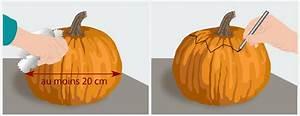 Comment Vider Une Citrouille : pr parer une citrouille d halloween d coration ~ Voncanada.com Idées de Décoration