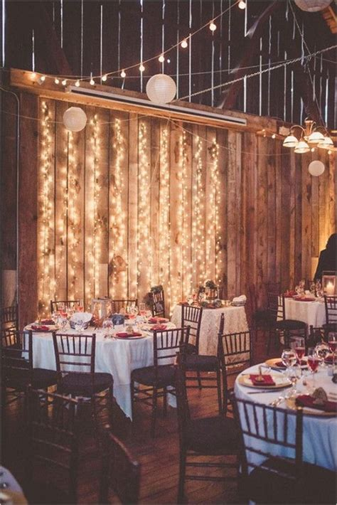 breathtaking string bistro lighting wedding ideas
