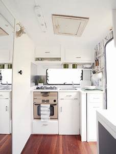 Super Cool and Practical Caravan Interior Design - DigsDigs