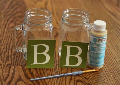 diy jar glasses diy etched mason jar glasses sometimes homemade