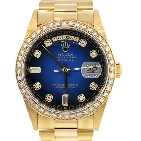 Rolex Daydate 18348 18k Yellow Gold Blue Face Dial Watch. Archimede Watches. Beach Stud Earrings. Fashion Statement Necklace. Ford Fusion Platinum. Name Gold Bracelet. Navy Rings. String Chains. Pandora Bangle Charms