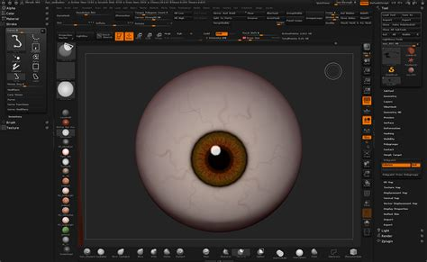 3d tip of the day zbrush eyeball with symmetry by