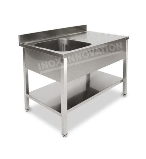 lavello sottopiano lavello aperto a una vasca con sgocciolatoio e sottopiano