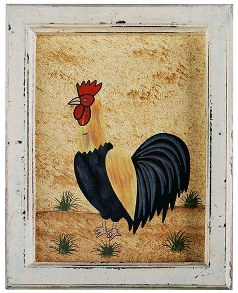 rustic rooster country crafts