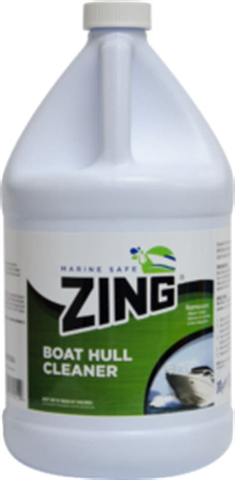 Boat Hull Cleaner Zing by Zing 174 Marine Safe Boat Hull Cleaner Phosphate Free Z904