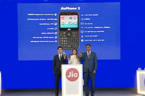 reliance jio announces jiophone 2 with qwerty keypad