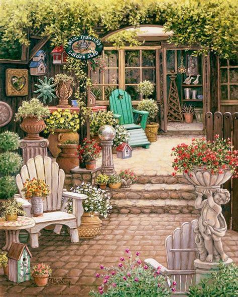 janet krusk s miss trawick s garden shop original
