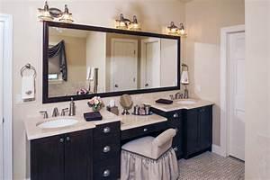 Meuble De Maquillage : meuble double vasque 50 id es am nagement salle de bain ~ Teatrodelosmanantiales.com Idées de Décoration