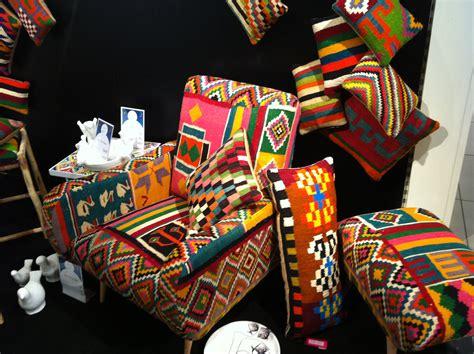 chambre style africain décoration ethnique objet déco