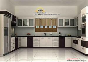 25 fantastic kerala home kitchen interior design for Kerala kitchen interior design