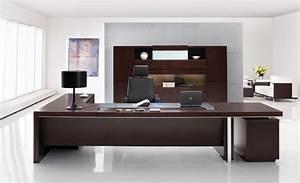 Professional Office Desk Sleek Modern Desk Executive
