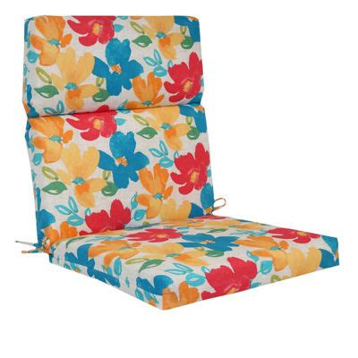 jcpenney patio cushions outdoor oasis chair cushion jcpenney