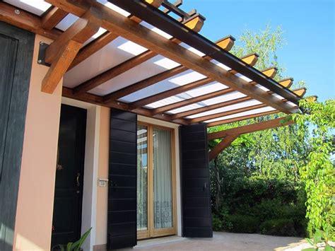 tettoia in legno tettoia in policarbonato tettoie e pensiline