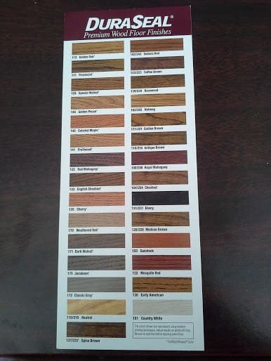 duraseal colors hardwood flooring stain color trends 2018 the flooring