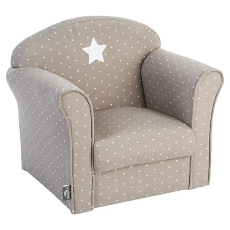 fauteuil pour chambre bébé fauteuil pour enfant taupe gris achat vente fauteuil