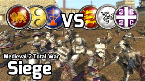2 total war siege 2 total war battle 156 3v3 siege