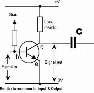 how do i calculate the dc blocking capacitor at the output With connections through circuits shocking