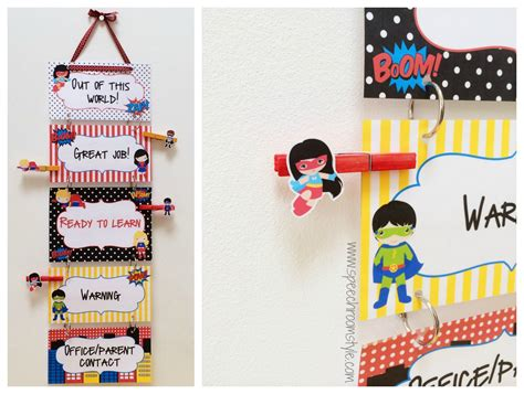 Superhero Theme Classroom Decor  Speech Room Style