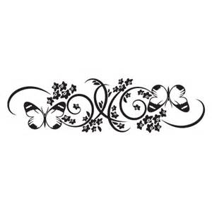 Text Decoration Underline More Space by Elegant Floral 4 Wall Quotes Wall Art Decal Wallquotes Com