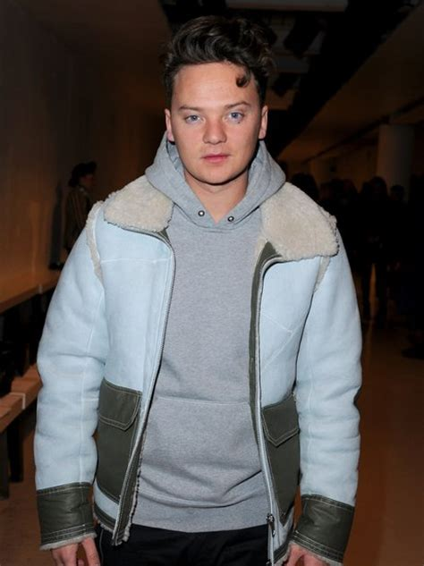 Conor Maynard Opts For A Blue Aviator Jacket And Slays At